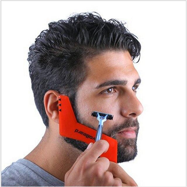 neue heie professionellen kamm fr mnner bart haar rasieren bart styling vorlage kardieren werkzeuge bearded kamm - Muster In Haare Rasieren