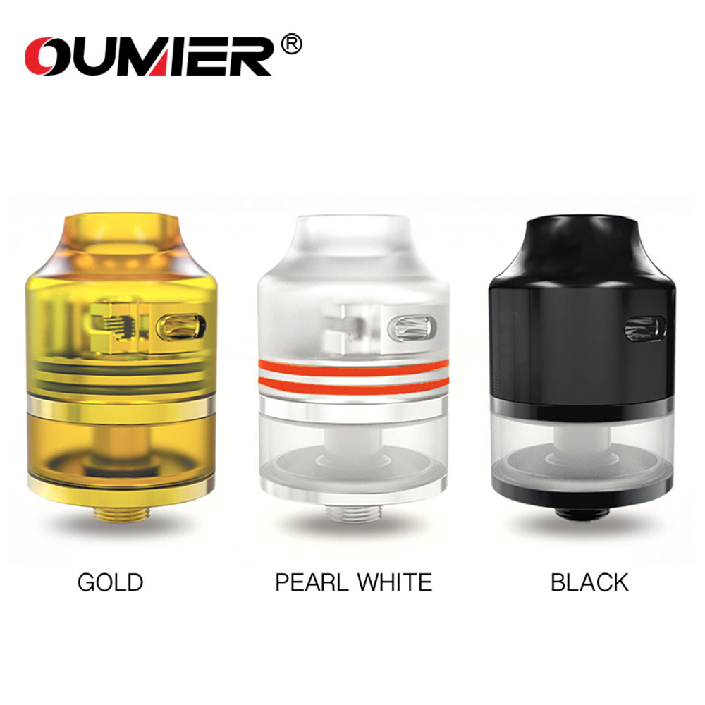Original OUMIER WASP NANO RDTA Tank Atomozer 2ml Capacity with Easy Building Deck Top Filling WASP NANO RDTA Vs RTA / RDA / RDTA original wotofo serpent rdta rta tank 2 5ml capacity top filling rebuildable tank atomizer clamped build deck e cig rdta atomize