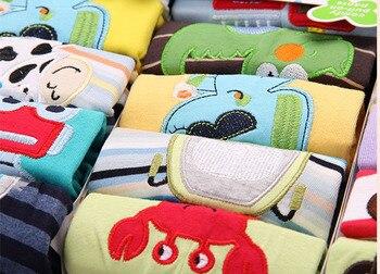 Casual Elastic Waist Cotton Pants for Babies 6