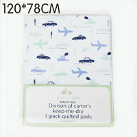 120 x78cm Flannel Baby diaper pad Baby Changing Mat large size waterproof urine pad comfortable Infant Travel Home Pure