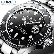 LOREO Men's Business Automatic Mechanical Watch Men Wrist