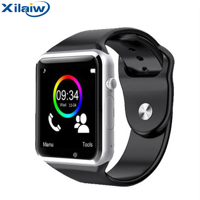 Xilaiw Bluetooth A1 Smart Watch Relogio Android Smartwatch Phone Call SIM TF Camera for IOS iPhone Samsung HUAWEI VS dz09 gt08