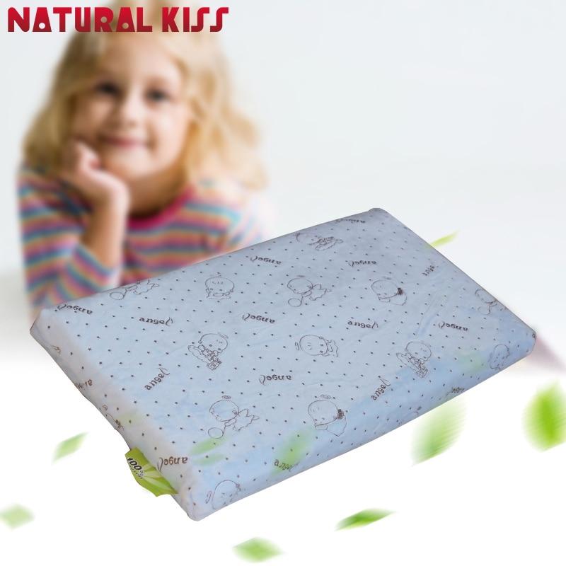 Két réteg osztott latex párna Gyermek nyak ápolási párna - Lakástextil