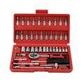 Cr-v hand tools Combination Bit Set Tool Kit 46pcs Spanner Ratche Socket Set 1/4 Car Repair Tool Ratchet Wrench Set