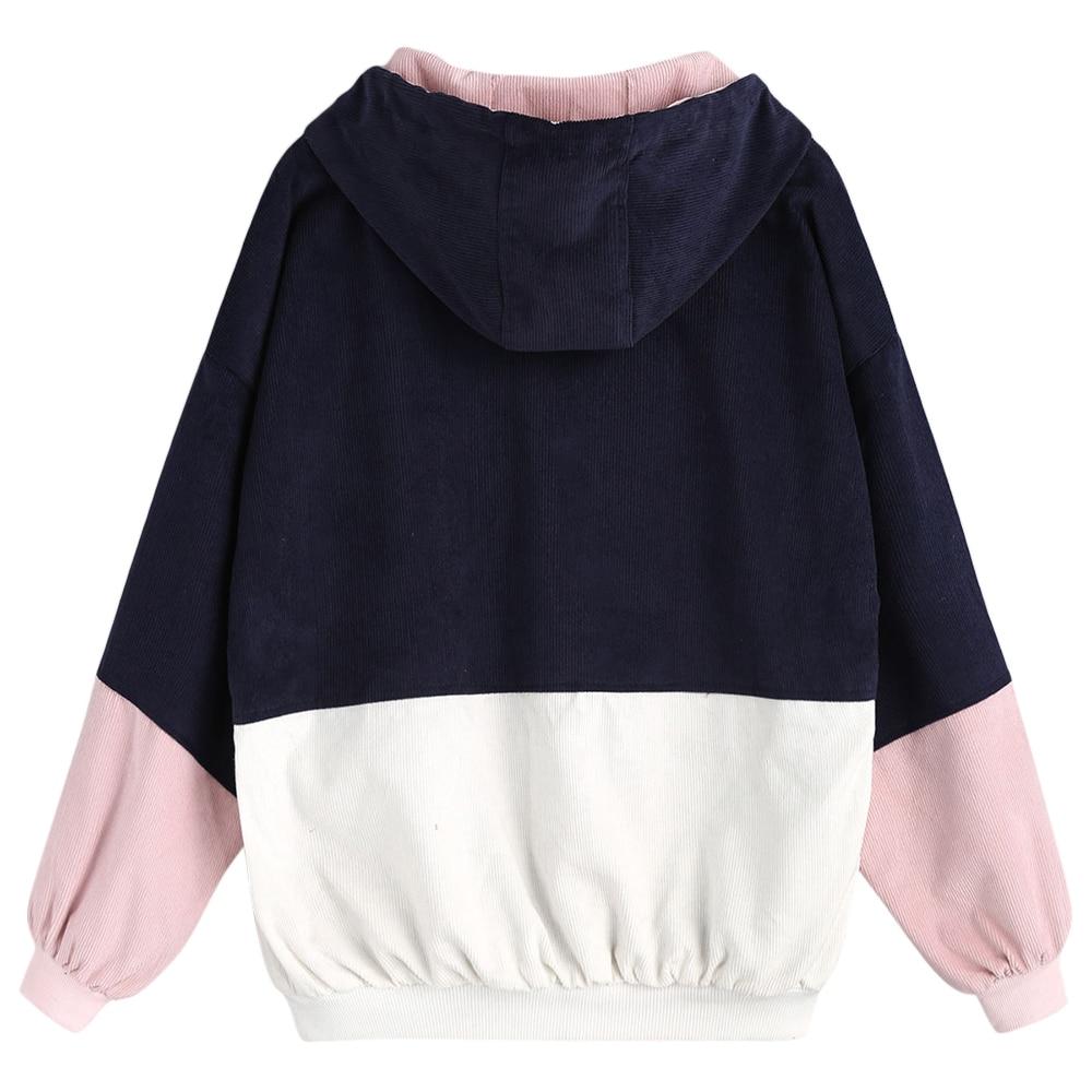 HTB1oLGthdnJ8KJjSszdq6yxuFXa2 - Jackets Women Hip Hop Zipper Up Hoodies Coat female 2018 Casual Streetwear Outerwear PTC 302