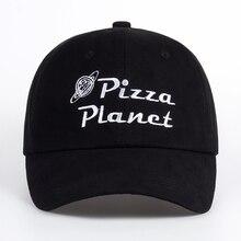 Фирменная Новинка планету пиццы шляпа Бейсбол Кепки шляпа c вышивкой, для отца летнего солнца пиццы хлопок бейсбольная кепка хип-хоп Спортивный Кепки Покемон bone