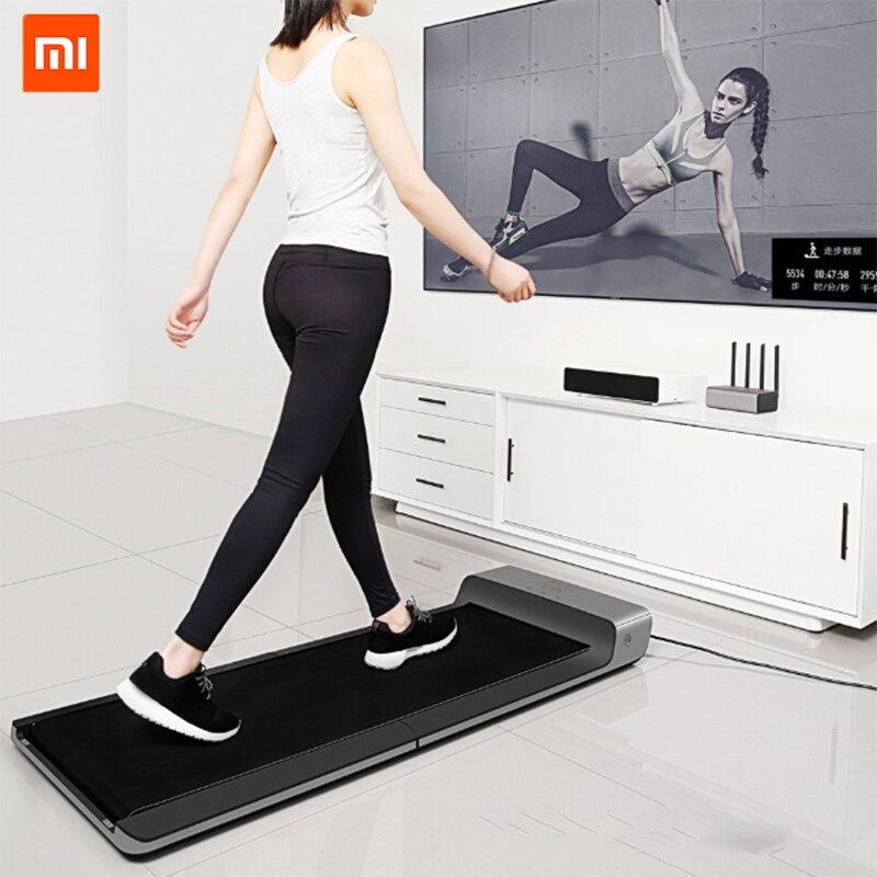 WalkingPad Xiaomi producto caminar máquina de ejercicio plegable sin instalar control libre de velocidad conectar Mijia App ver base de datos