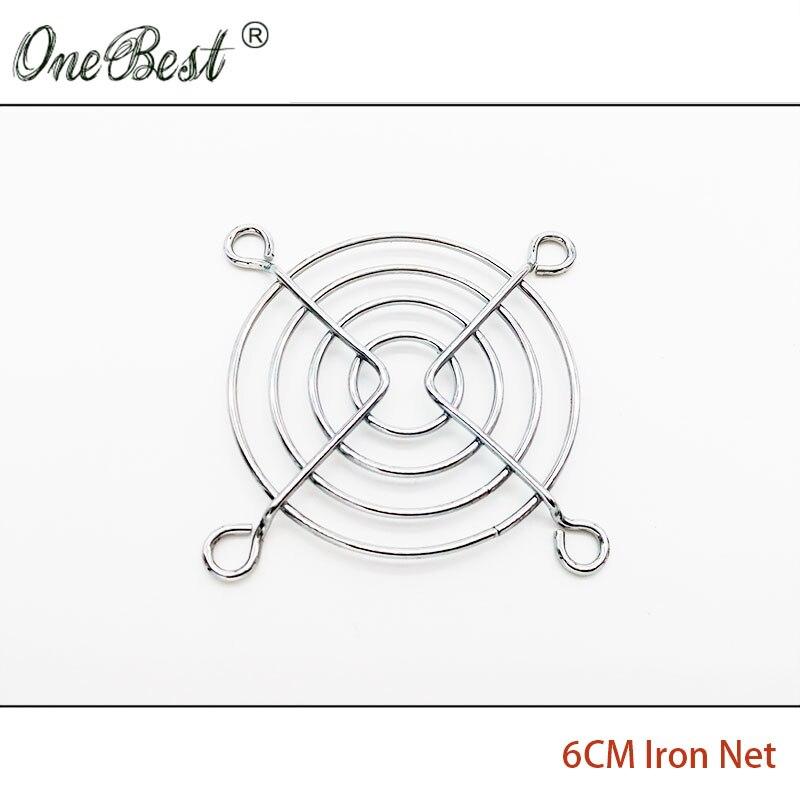 っ6 cm hierro de la CPU Fan dedo guardia cubierta del ventilador ...