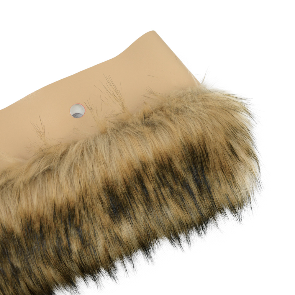 d11e44758ea8 Package Included 1 pc of faux Raccoon fur plush decoration(Bag body and  handles are not inclueded)