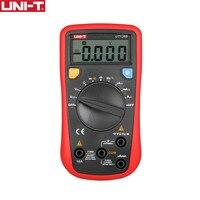 UNI-T UT136B Цифровой мультиметр Авто Диапазон Тесты er AC DC voltagecurrent Ом диод Кепки Гц Тесты диода мультиметр