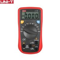 UNI T UT136B Digital Multimeter Auto Range Tester AC DC VoltageCurrent Ohm Diode Cap Hz of test diode multimeter