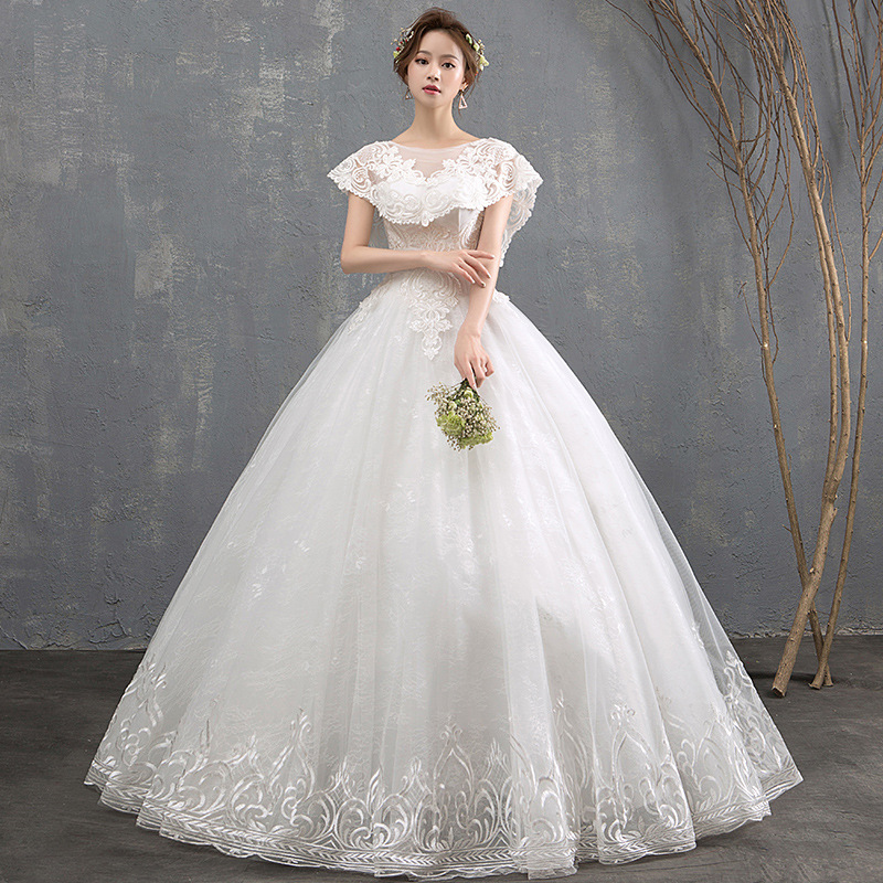 Wedding Gown Can Can: Do Dower Noble Sweet O Neck Wedding Dress 2019 New