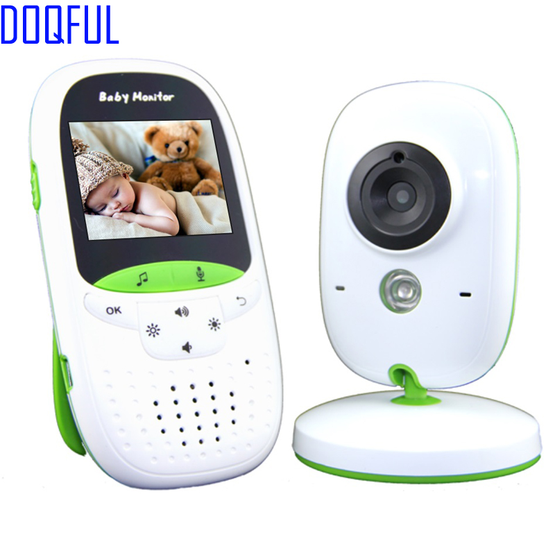 New 2.0 inch LCD Protable Baby Monitor Digital Wireless Nanny Camera 2 Way Talk Night Vision Home Security Temperature Lullabies floureon 2 4 digital wireless 2 4 ghz baby monitor lcd video nanny security camera temperature display 2 way talk night vision lullabies radio
