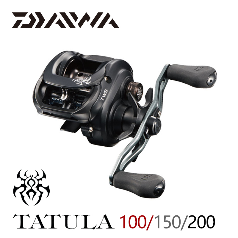 2019 DAIWA TATULA 100 150 200 Fishing reel Baitcasting Reel MAX DRAG 5kg 6kg low profile