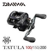 2019 DAIWA TATULA 100 150 200 Angeln Baitcastingrolle MAX DRAG 5 kg/6 kg niedrigen profil angeln reel Casting Reel 7BB + 1RB