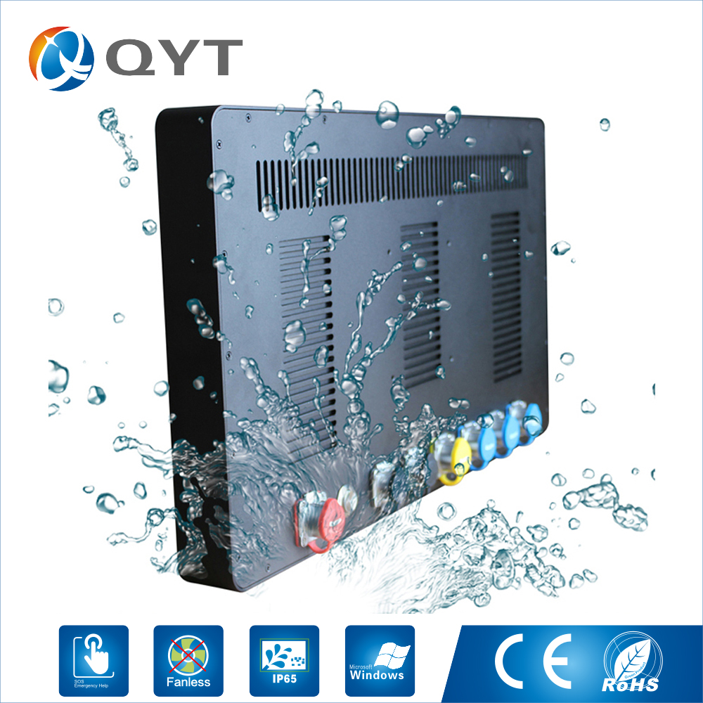 Newly Industrial Pc 21.5 inch touch screen intel J1900 2.0GHz ip65 Resolution 1920*1080 Waterproof Fanless Rugged Tablet pc