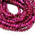 Latest Designed Approx 210pcs/lot 4mm Rose Red Glass Beads for Jewelry Making & DIY Beads BBD014-64