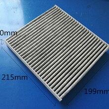 CUK2252 Фабричный выход 27275-0N025 высококачественный углеродный воздушный фильтр в салон автомобиля CU2351 для ISUZU 21,5*19,9*3,1 см C35530