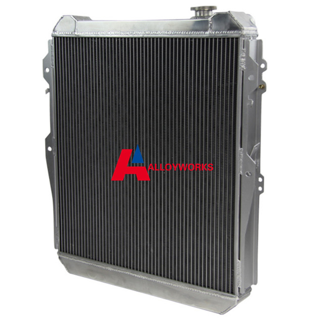 3 row aluminum radiator fit toyota hilux surf kzn130 1kz te 3 0 td rh aliexpress com