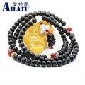 Ailatu Rosary Buddhist 108 Beads Stone Meditation Mala Tibetan Prayer Beads Bracelet