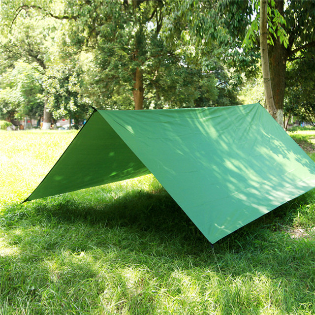 3mx3m Waterproof Tarp Sun Shelter Camping Climbing Outdoor Tent Patio sun Shade Awning Canopy Garden tent Ship from CN/Russian
