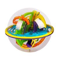 158 Steps Smart 3d Maze Ball Child Interaction Games Intelligence Toy Magical Intellect Balance Logic Ability