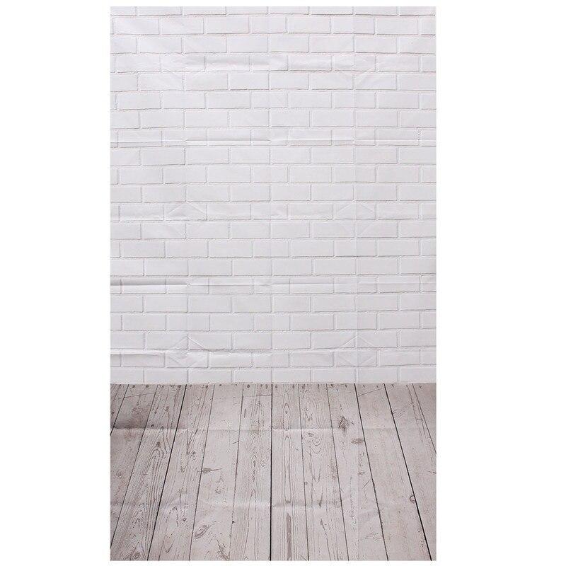 Photography Background Studio Photo Props Thin Backdrop 3X5FT Wood Grain Brick style 2
