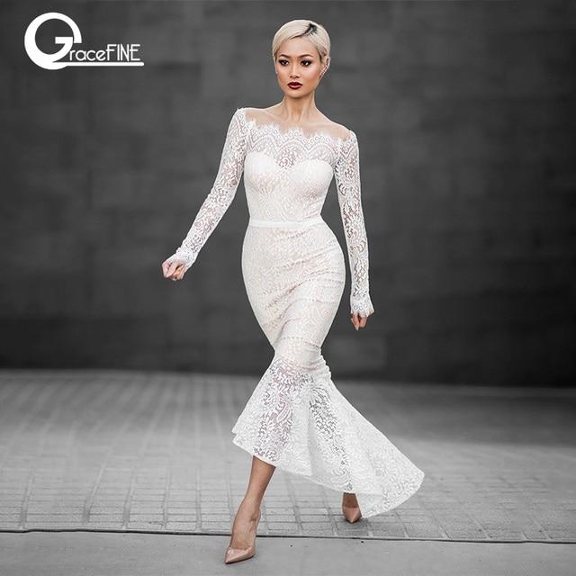 6016fc7c313 Boat Neck Lace Dress – Fashion dresses