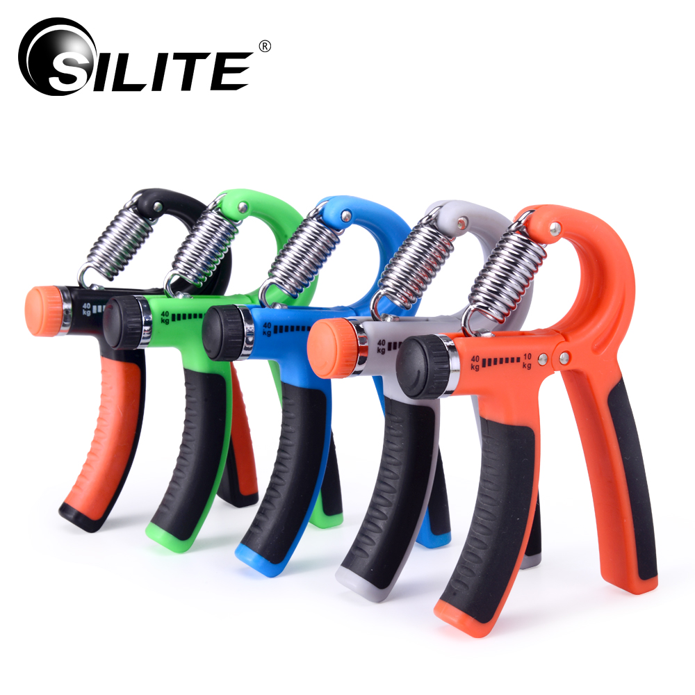 SILITE Hand Grips 10-40KG Adjustable Heavy Grips Gym Power Fitness Gripper Strength Training Exerciser Workout Finger Trainer