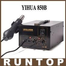 YIHUA-850B CALIENTE 110 V/220 V bulit-en La Bomba De SMD IC PCBA SMT Retrabajo Estación de Soldadura de Aire Caliente pistola Para Desoldar Herramienta
