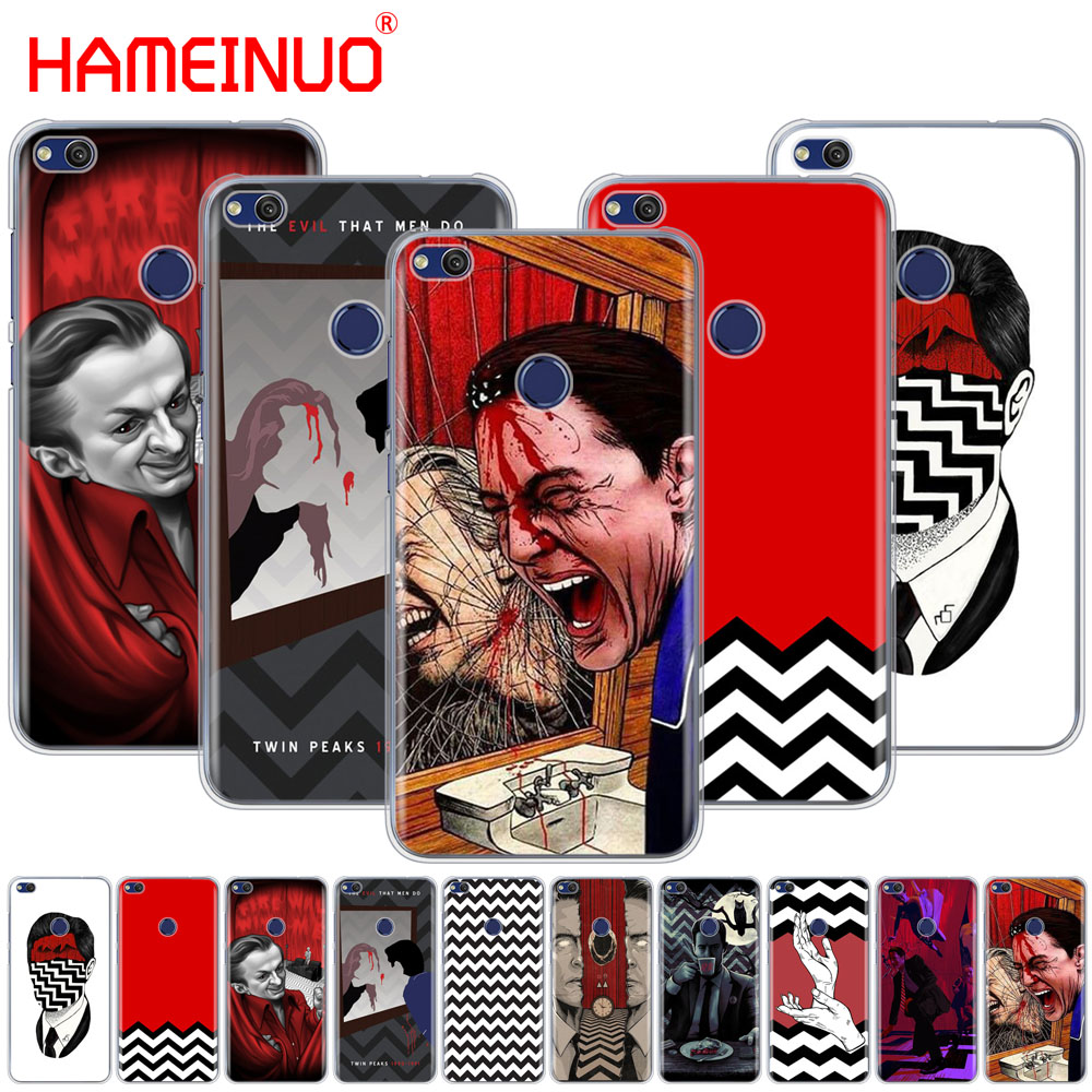 HAMEINUO Twin Peaks Fire Walk With Me Cover phone Case for huawei Ascend P7 P8 P9 P10 P20 lite plus pro G9 G8 G7 2017