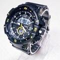 Marca alike 2016 new casual homens relógio g estilo militar relógios choque à prova d' água esportes dos homens luxo quartzo analógico digital relógio