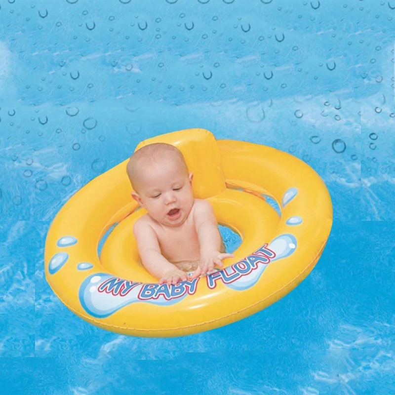 Baby Sit Float Ring Swimming Pool For Children Baby Swimming Ring ...