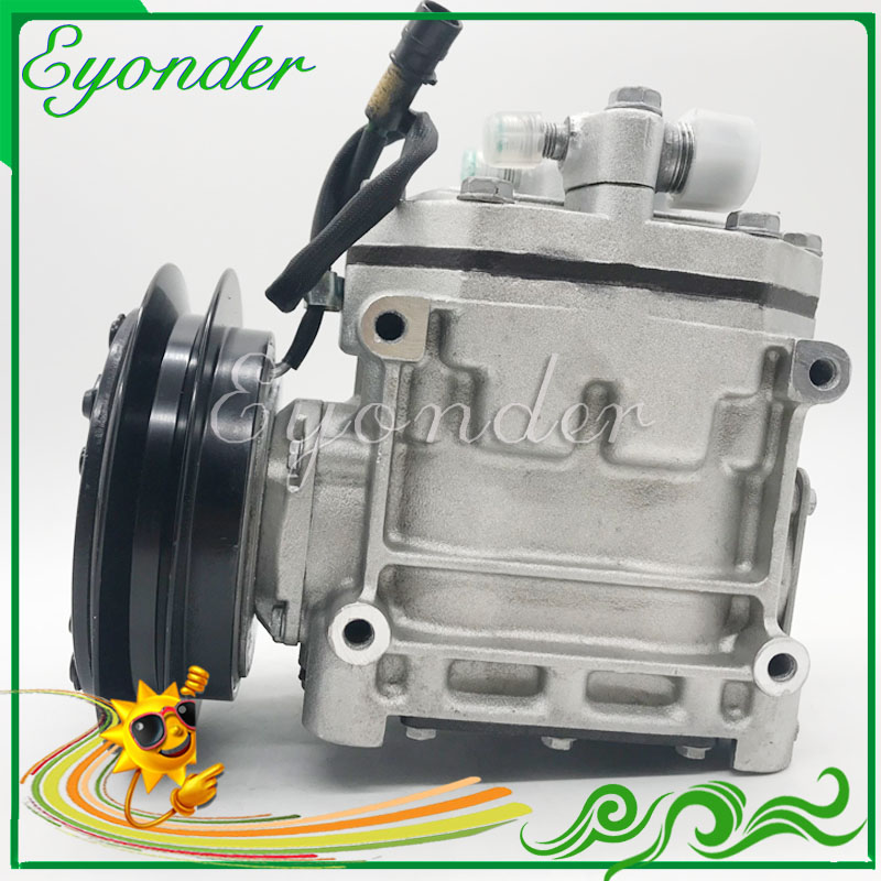 A C AC Air Conditioning Compressor Cooling Pump PV1 for Mitsubishi Fighter Truck R404A FK337D553073 ACA200A007A