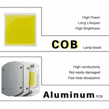 20W 30W 50W High Power Integrated COB Chip Lamp 110V 220V Matrix LED Spotlight DIY Projector Flood Light Outdoor Street Lampada