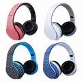 Alta calidad caliente auriculares bluetooth inalámbrico auriculares grandes auriculares estéreo manos libres con micrófono y auriculares para ordenador