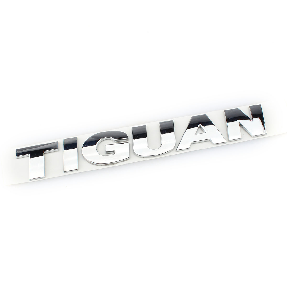 OEM 185mm Silver Chrome Car Auto Rear Trunk Lid Badge Decal Sticker TIGUAN Logo for VW Volkswagen Emblem New fit for volkswagen vw tiguan rear trunk scuff plate stainless steel 2010 2011 2012 2013 tiguan car styling auto accessories