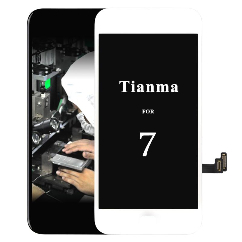 imágenes para 5 unids para tianma Para iPhone 7 LCD pantalla ecran para reemplazo de la Pantalla Táctil iphone 7 clon 4.7 ''Pantalla No muertos pixel