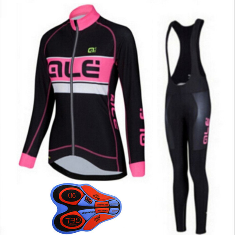 2018 Medellin cycle clothing womens professional bike riding suit fast-drying long-sleeved mountain bike clothing breathable