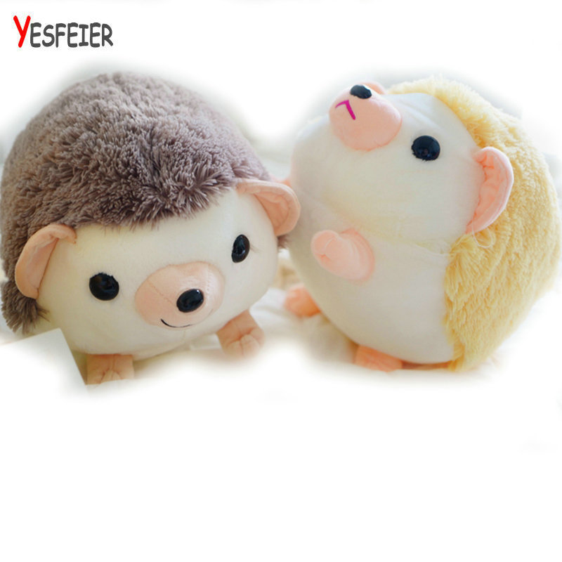 30/40cm Kawaii Hedgehog plush toys fat Hedgehog doll Stuffed plush PP Cotton pillow Cushoin Christmas present for Chidlren 2543 carrot shaped pp cotton plush throw pillow orange 40cm length