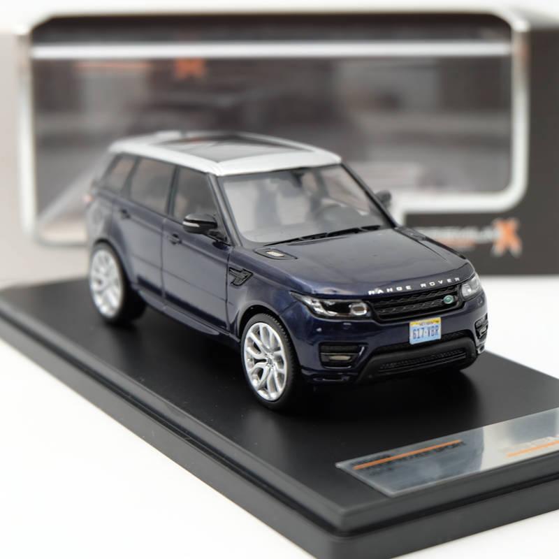 IXO premium x 1:43 Range Rover Sport 2014 синий металлик PRD359 Ограниченная серия коллекции смолы моделей Авто