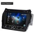 """Недорогое новое головное устройство SINOSMART WIN CE стабильной работы 8 """" DVD GPS навигация для IX45 2013 Santa Fe 2013 поддержка язык меню"""