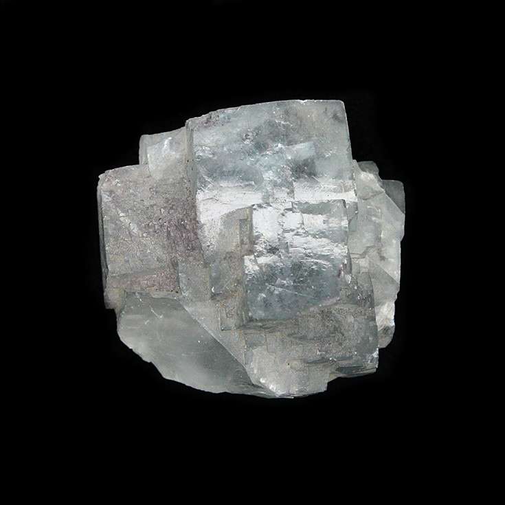 Yaogangxian fluorite crystal specimens teaching specimens produce small ornaments Mineral Collection Features Gift ygx17