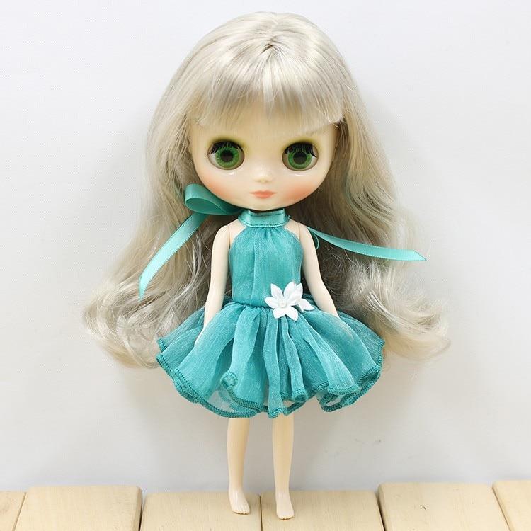 Middie Blythe Doll Colorful Elegant Dresses 5