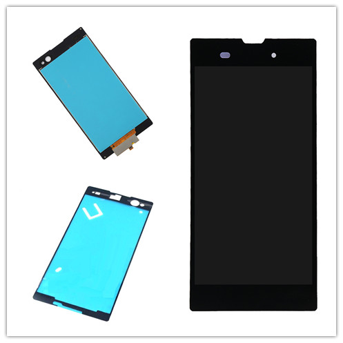 JIEYERFor <font><b>Sony</b></font> <font><b>Xperia</b></font> <font><b>C3</b></font> D2533 D2502 LCD Display Monitor Touch Screen Panel mit Digitizer Assembly Ersatzteile + kleber image