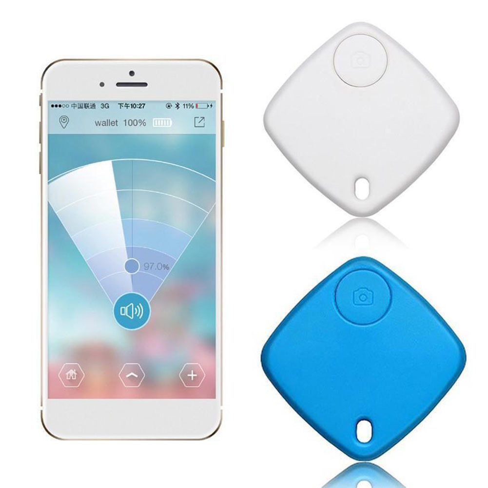 2019 NEW Smart Tag Wireless Bluetooth Tracker Child Bag Wallet Pet Car Key Finder GPS Locator 3 Colors Anti-lost Alarm Reminder