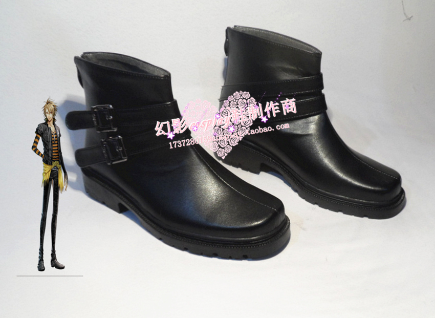 AMNESIA Toma Cosplay Shoes Boots Custom-Made 623