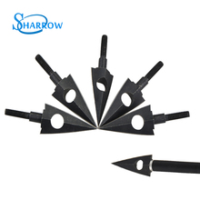 6/12pcs Archery Blade Arrowheads 116 Grain Traditional Metal Broadheads Point Outdoor Hunting Bow and Arrow Shooting Accessories