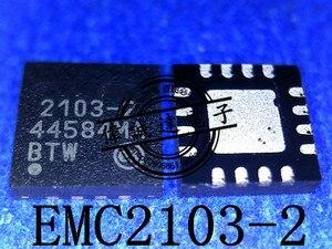 20Pcs EMC2103-2-AP-TR 2103-2 QFN16 New