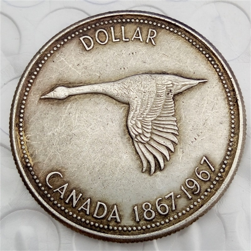 Canada 1967 1 dollar Commemorative Copy Coins